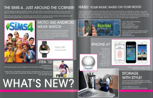 What's new in Live Magazine