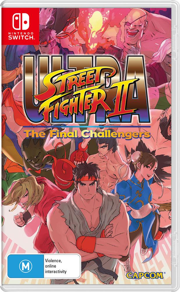 Ultra Street Fighter II - Packshot