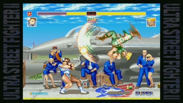 Ultra Street Fighter II - Screenshot - Chun-Li VS Guile Flash Kick Classic